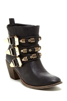 Bucco Tria Buckle Bootie on HauteLook