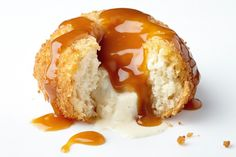 Double-fried ice-cream doughnuts? Yes please!
