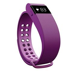 Heart Rate Monitor Fitness Tracker moreFit Wireless Walking Sleep Counting Smart HR Activity Wristband Sports Watch for Women Purple ** Be sure to check out this awesome product.(This is an Amazon affiliate link)