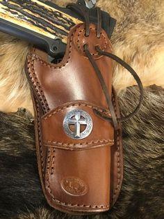 Hunting Gun Holsters for sale 1911 Holster, 1911 Pistol, Pistol Holster, Leather Holster, Revolver, Western Holsters, Natural Leather, Leather Craft, Barrel