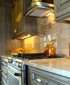 Traditional Andino White Granite Kitchen Design Ideas, Pictures, Remodel  And Decor