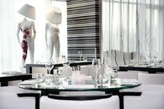 "FASHION HOTEL, Amsterdam,Holland,""They Light Up The Room"", pinned by Ton van der Veer"