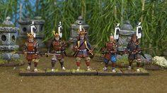Wargames Factory 28mm Plastic Figures - Samurai Warriors