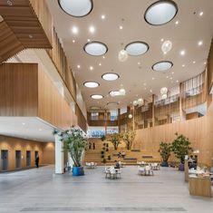Novartis Institute for BioMedical Research in Cambridge by Toshiko Mori, Maya Lin, CannonDesign