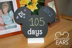 Disney Vacation Countdowns   Preschoolears Blog