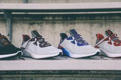 adidas Is Celebrating the NCAA Bowl Games With a Limited Edition AlphaBOUNCE Release: In colorways of the teams participating. Reebok, Adidas Shoes, Shoes Sneakers, Nba, Alpha Bounce, Bowl Game, Sneaker Release, Things That Bounce, Air Jordans