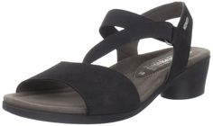 Mephisto Women's Priska Slingback Sandal,Black Bucksoft,7 M US. Look and feel your best for hours in the Mephisto Priska sandal. With a nubuck lining to regulate temperature and Soft-Air technology lending cushy comfort to every step, this supple nubuck women's sandal is ideal for warm-weather wear at home or away. A removable Air-Relax insole accommodates orthotics. Elasticized straps enable a snug fit and easy on/off. The Mephisto Priska sandal rests atop a foundation of a latex sole…