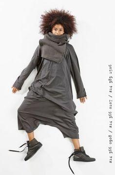 rundholz black label - Strickhose High Stretch black - Winter 2015