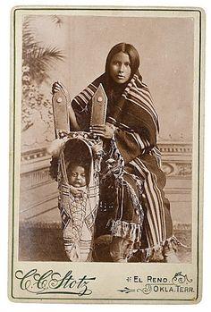 Kiowa woman and child - no date