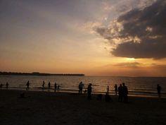 Bagan Lalang Beach in Tanjung Sepat, Selangor