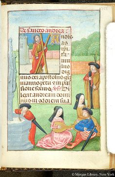 Book of Hours, MS S.7 fol. 255r - Images from Medieval and Renaissance Manuscripts - The Morgan Library & Museum