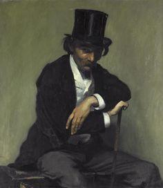Portrait de Paul Napoléon Roinard, 1893 - Louis Anquetin (French 1861-1932)