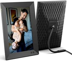 Amazon.com : Nixplay 10.1 Inch Smart Digital Picture Frame, Share Video Clips and Photos Instantly via E-Mail or App : Camera & Photo Electronic Picture Frame, Best Digital Photo Frame, Video Clips, Cloud Photos, Gifts For New Parents, Boyfriend Anniversary Gifts, Works With Alexa, Tech Gifts, Unique Photo