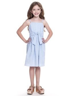 Kids Dress Girls Princess Flower 3-8 Years Cotton Summer Sundress Picnic Dress