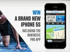 Win a brand new Apple iPhone 5s at RuntasticApp Giveaway