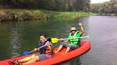 Oyo river fun paddling