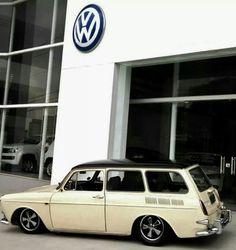 Lovely squareback Volkswagen Karmann Ghia, Volkswagen Type 3, Vw Wagon, Vw Variant, Vw Modelle, Vw Lt, Vw Classic, Vw Cars, Hot Rides