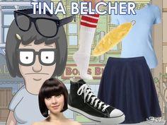 "Halloween Inspiration Board: Tina Belcher From ""Bob's Burgers"""