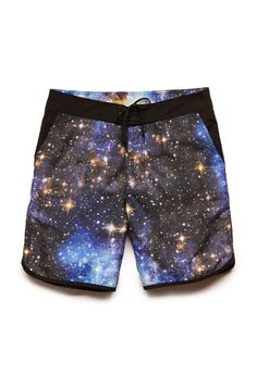 Galaxy Print Swim Trunks | 21 MEN #F21Swim #SummerForever #21Men
