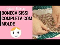 passo a passo de bolsas térmicas: Boneca Sissi Completa Com Molde Magia de Pano - Adriana Schutz Drica
