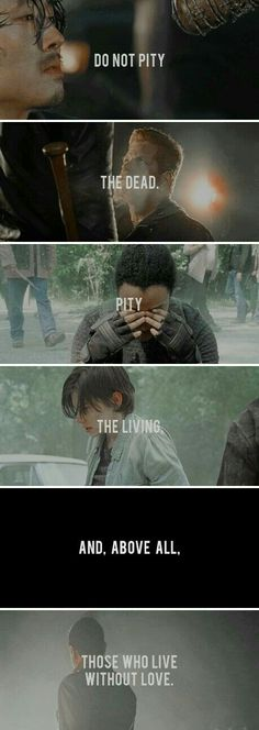 Well, shit. Don't be crossing the streams y'all. HP and TWD do not mix.