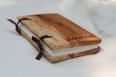 reclaimed wood journal - Need to make some. Great gift idea!