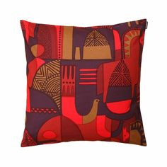 Marimekko Talvitarina Throw Pillow