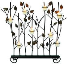 Votive Wrought Iron Fireplace Screen
