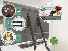 child-safety-Furniture-tv-Straps-Anti-Tip-4-Corner-Furniture-Edge-protection