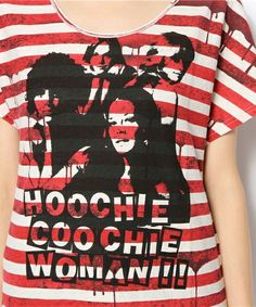 HYSTERIC GLAMOUR LADYS(ヒステリックグラマーレディース)のHOOCHIE COO pt T-SH(Tシャツ・カットソー)|詳細画像