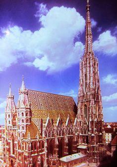 Vienna,  Austria - St. Stephen's Cathedral