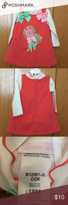 Girl's 2-piece jumper set Girl's 2-piece jumper set, originally this came with a leggings, which I no longer have Bonnie Baby Matching Sets