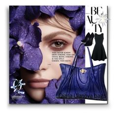 Russ dark blue* by nelly-melachrinos on Polyvore featuring polyvore, Emporio Armani, Casadei, fashion, style and clothing