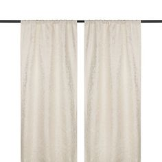 Ivory Marseille Curtain Panel Set, 84 in. | Kirklands