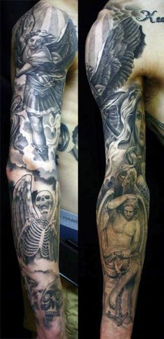 Angel Tattoo Design Ideas For Guys