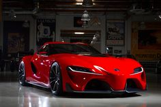 Watch car enthusiast Jay Leno breakdown the Toyota FT-1 with design team members from Calty Design Research, Inc. Just so you know, he says he likes this better then the Lexus LFA!