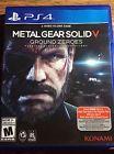 Metal Gear Solid Ps4