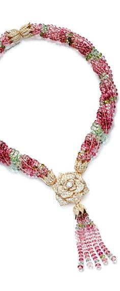 Piaget.  To go with Patricia's lovely pink dress:-)