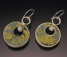 Image result for polymer clay sterling silver