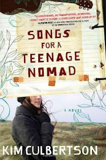 """Songs for a Teenage Nomad"" by Kim Culbertson!I LOVE this book with al my heart!"