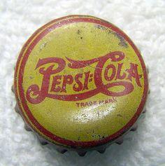 MELLO YELLO CITRUS SODA green CROWN Bottle CAP Jefferson City Coca-Cola MISSOURI