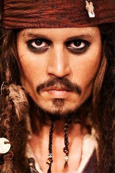 jack sparrow- great male pirate makeup, need it for my makeup class!