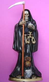 LA SANTA MUERTE - The Lady of the Dead, Protector of Souls and Children