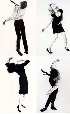 I like these images: Robert Longo