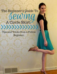 See some beginner tips on how to sew a circle skirt - what I wish I would have known before I started!