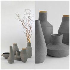 Kami pots by Ett la benn studio