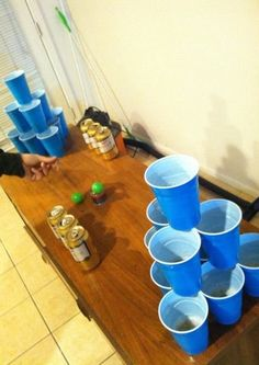 Drinking Games For Adults Alcohol Parties Beer Pong 35 Super Ideas Drinking Games For Parties, Adult Party Games, Adult Games, Drunk Games, Beer Games, Beer Olympics Party, Alcohol Games, Pong Game, Pub