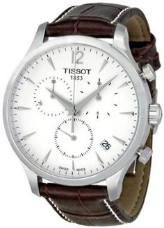 Tissot T Classic Tradition Chronograph Silver Dial Mens Watch T0636171603700: Watches: Amazon.com