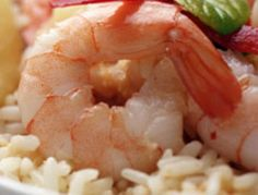 Garlic Shrimp Rice Bowl It's a complete meal made completely in your rice cooker!