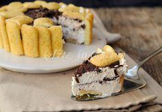 Crostata di pavesini fredda al cioccolato veloce